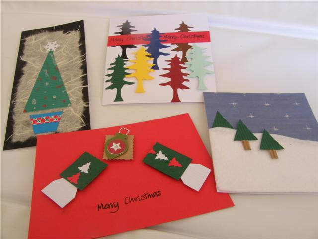 Christmas cards beccas designs handmade greetings cards in christmas cards m4hsunfo